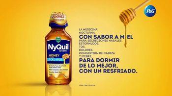 Vicks NyQuil Severe Honey Cold & Flu TV Spot, 'Calmante' [Spanish] - Thumbnail 7