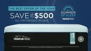 Tempur-Pedic Summer of Sleep TV Spot, 'Transformative Sleep: Save $500' - Thumbnail 7