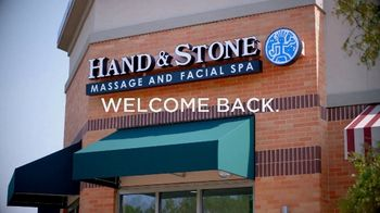 Hand & Stone TV Spot, 'Welcome Back' - Thumbnail 1