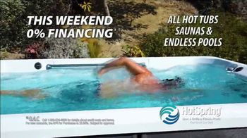 HotSpring TV Spot, 'Benefit From Hydrotherapy: 0% Financing' - Thumbnail 2