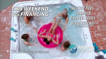 HotSpring TV Spot, 'Benefit From Hydrotherapy: 0% Financing' - Thumbnail 3