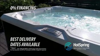 HotSpring TV Spot, 'Benefit From Hydrotherapy: 0% Financing' - Thumbnail 7
