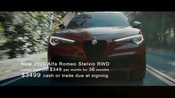 Alfa Romeo Summer of Speed Event TV Spot, 'Type A: Stelvio' Featuring Alexander Skarsgård [T2] - Thumbnail 5