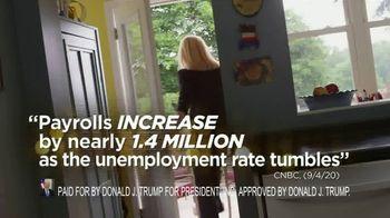 Donald J. Trump for President TV Spot, 'Great American Comeback' - Thumbnail 9