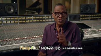 Hempvana Pain Relief Cream TV Spot, 'Years of Back Pain' Featuring Randy Jackson - Thumbnail 8