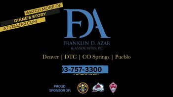 Franklin D. Azar & Associates, P.C. TV Spot, 'Diane: Millions of Dollars in Medical Bills' - Thumbnail 10