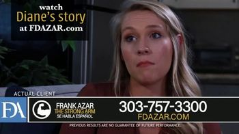 Franklin D. Azar & Associates, P.C. TV Spot, \'Diane: Millions of Dollars in Medical Bills\'