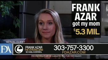 Franklin D. Azar & Associates, P.C. TV Spot, 'Diane: Millions of Dollars in Medical Bills' - Thumbnail 5