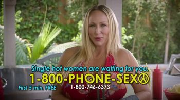 1-800-PHONE-SEXY TV Spot, 'Grilling Time' - Thumbnail 9
