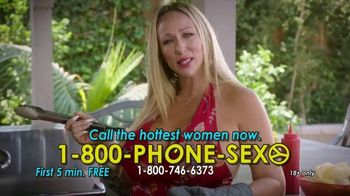 1-800-PHONE-SEXY TV Spot, 'Grilling Time'