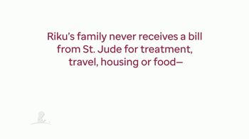 St. Jude Children's Research Hospital TV Spot, 'Childhood Cancer Awareness Month: Riku and Family' - Thumbnail 4