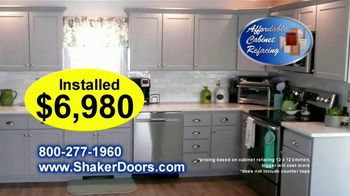 Affordable Cabinet Refacing TV Spot, 'Transform Your Kitchen'