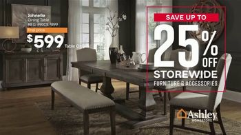 Ashley HomeStore Labor Day Sale TV Spot, 'Final Four Days: 25% Off Storewide' - Thumbnail 4