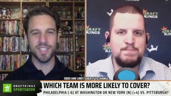 DraftKings Sportsbook TV Spot, 'Which Team Is More Likely to Cover?'