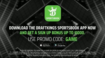 DraftKings Sportsbook TV Spot, 'Which Team Is More Likely to Cover?' - Thumbnail 6
