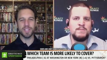 DraftKings Sportsbook TV Spot, 'Which Team Is More Likely to Cover?' - Thumbnail 1
