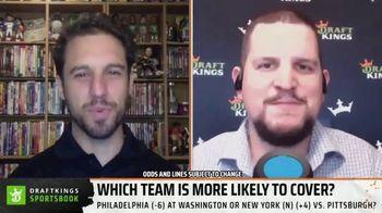 DraftKings Sportsbook TV Spot, 'Which Team Is More Likely to Cover?' - Thumbnail 5