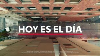 Toyota TV Spot, 'Today's the Day: Turn It Up' canción de OutKast [Spanish] [T1] - 672 commercial airings