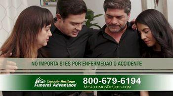 Lincoln Heritage Funeral Advantage TV Spot, 'Últimos deseos: Muy economico' [Spanish] - Thumbnail 10