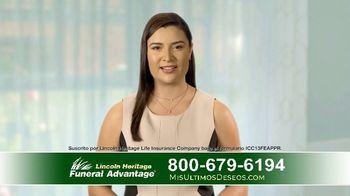 Lincoln Heritage Funeral Advantage TV Spot, 'Últimos deseos: Muy economico' [Spanish] - Thumbnail 4