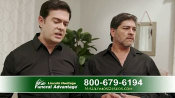 Lincoln Heritage Funeral Advantage TV Spot, 'Últimos deseos: Muy economico' [Spanish] - Thumbnail 5