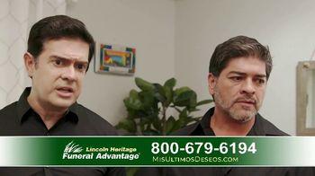 Lincoln Heritage Funeral Advantage TV Spot, 'Últimos deseos: Muy economico' [Spanish] - Thumbnail 6