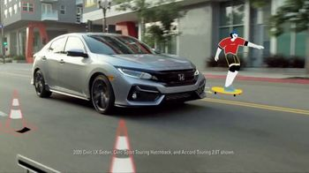 Honda Summer Clearance Event TV Spot, 'Open and Ready: Civic and Accord' Song by Danger Twins [T2] - Thumbnail 3
