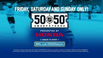 The National Hockey League 50-50+ Sweepstakes TV Spot, 'This Weekend' - Thumbnail 10