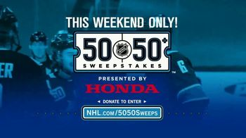 The National Hockey League 50-50+ Sweepstakes TV Spot, 'This Weekend' - Thumbnail 3