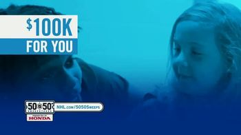 The National Hockey League 50-50+ Sweepstakes TV Spot, 'This Weekend' - Thumbnail 4