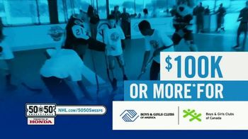 The National Hockey League 50-50+ Sweepstakes TV Spot, 'This Weekend' - Thumbnail 5
