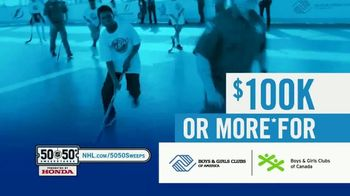 The National Hockey League 50-50+ Sweepstakes TV Spot, 'This Weekend' - Thumbnail 6