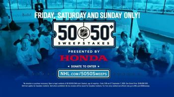 The National Hockey League 50-50+ Sweepstakes TV Spot, 'This Weekend' - Thumbnail 7