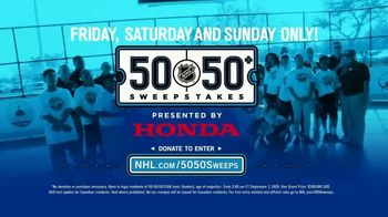The National Hockey League 50-50+ Sweepstakes TV Spot, 'This Weekend' - Thumbnail 8