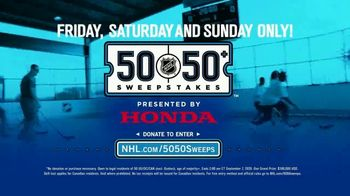 The National Hockey League 50-50+ Sweepstakes TV Spot, 'This Weekend' - Thumbnail 9