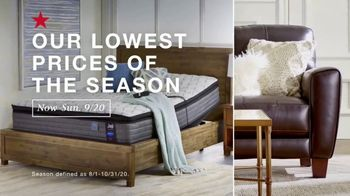 Macy's TV Spot, 'Lowest Prices of the Season: Furniture and Mattresses' - Thumbnail 2