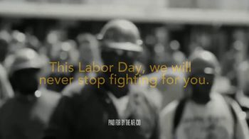 AFL-CIO TV Spot, 'Labor Day: Honoring America's Workers' - Thumbnail 7