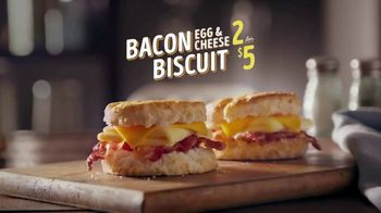 Bojangles' Sausage or Bacon, Egg & Cheese Biscuit TV Spot, 'Like a Powder Keg' - Thumbnail 6