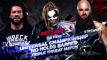WWE Network TV Spot, '2020 Payback' - Thumbnail 6