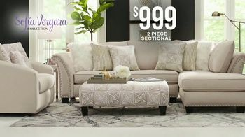 Rooms to Go Labor Day Sale TV Spot, 'Sofia Vergara Sectional' - Thumbnail 4