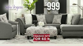 Rooms to Go Labor Day Sale TV Spot, 'Sofia Vergara Sectional' - Thumbnail 5