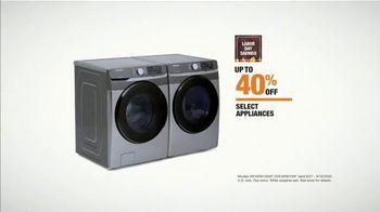 The Home Depot Labor Day Savings TV Spot, 'Cool Drinks & Homemade Treats: Samsung Laundry' - Thumbnail 8