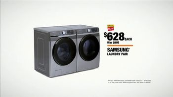 The Home Depot Labor Day Savings TV Spot, 'Cool Drinks & Homemade Treats: Samsung Laundry' - Thumbnail 9
