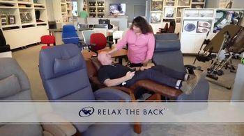 Relax the Back TV Spot, 'Tempur-Pedic, Office Chair Bundles and Zero Gravity Recliners' - Thumbnail 4