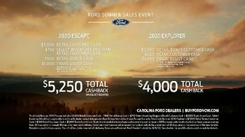 Ford Summer Sales Event TV Spot, 'Grab the Family' Song by Kygo, Whitney Houston [T2] - Thumbnail 9