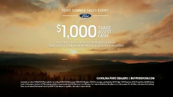 Ford Summer Sales Event TV Spot, 'Grab the Family' Song by Kygo, Whitney Houston [T2] - Thumbnail 8
