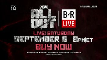 Bleacher Report Live TV Spot, 'AEW: All Out' - Thumbnail 8