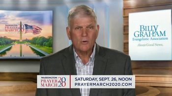 Billy Graham Evangelistic Association TV Spot, '2020 Washington Prayer March: Lincoln Memorial' - 42 commercial airings