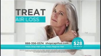 Capillus Laser Cap TV Spot, 'Treat Hair Loss at Home: $28 per Month' - Thumbnail 2