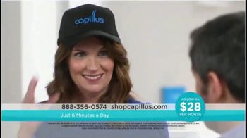 Capillus Laser Cap TV Spot, 'Treat Hair Loss at Home: $28 per Month' - Thumbnail 3